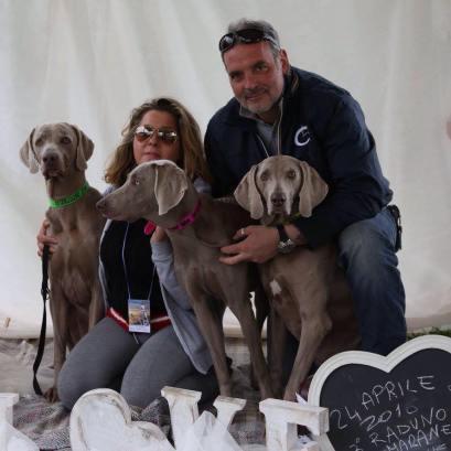 Balù,Mia,Lola,Simo & Mauro